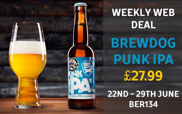 weekly beer promo £27.99